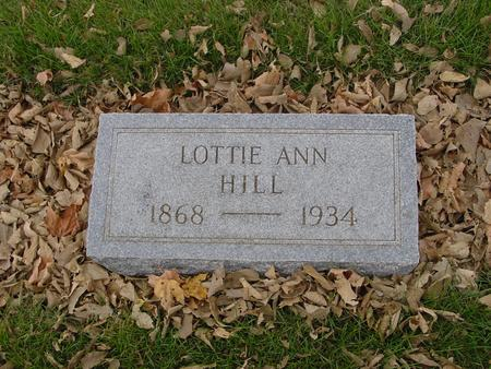 HILL, LOTTIE ANN - Sac County, Iowa | LOTTIE ANN HILL