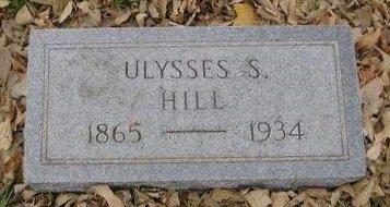 HILL, ULYSSES S. - Sac County, Iowa | ULYSSES S. HILL
