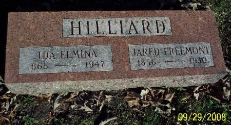 HILLIARD, JARED FREEMONT - Sac County, Iowa | JARED FREEMONT HILLIARD