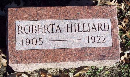 HILLIARD, ROBERTA - Sac County, Iowa | ROBERTA HILLIARD