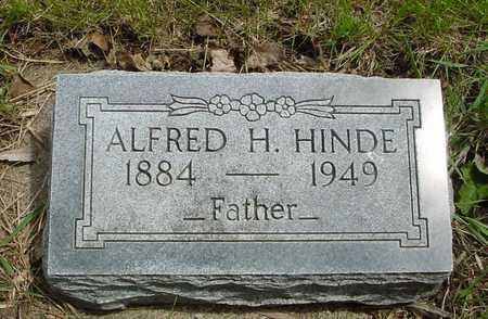 HINDE, ALFRED H. - Sac County, Iowa | ALFRED H. HINDE