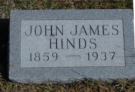 HINDS, JOHN JAMES - Sac County, Iowa   JOHN JAMES HINDS