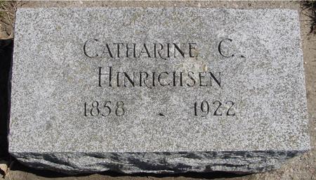 HINRICHSEN, CATHARINE C. - Sac County, Iowa   CATHARINE C. HINRICHSEN