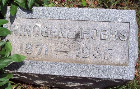 HOBBS, WINOGENE - Sac County, Iowa   WINOGENE HOBBS