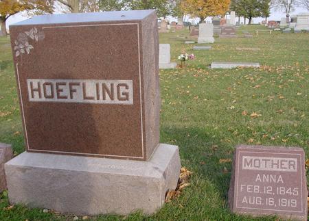 HOEFLING, ANNA - Sac County, Iowa | ANNA HOEFLING
