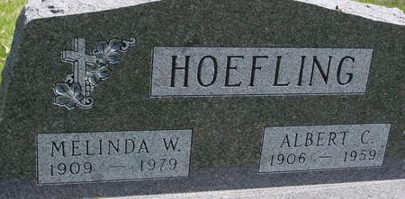 HOEFLING, ALBERT & MELINDA W. - Sac County, Iowa   ALBERT & MELINDA W. HOEFLING
