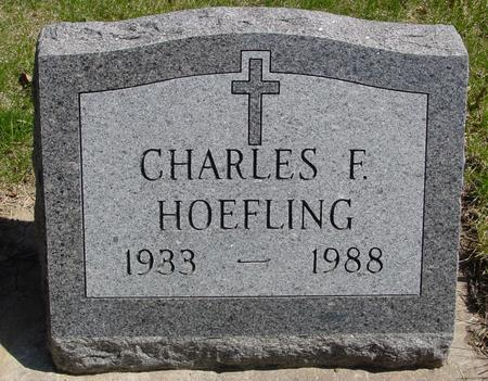 HOEFLING, CHARLES F. - Sac County, Iowa | CHARLES F. HOEFLING