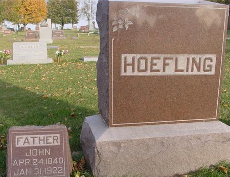 HOEFLING, JOHN - Sac County, Iowa | JOHN HOEFLING