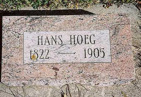 HOEG, HANS - Sac County, Iowa | HANS HOEG