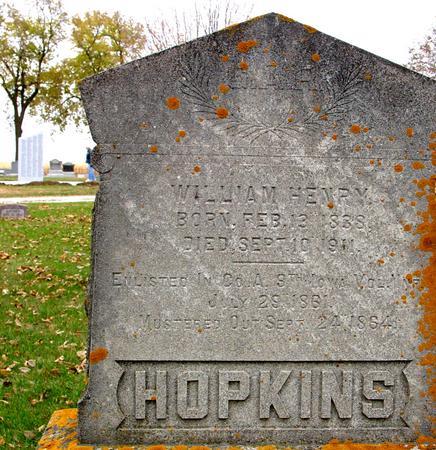 HOPKINS, WILLIAM HENRY - Sac County, Iowa | WILLIAM HENRY HOPKINS
