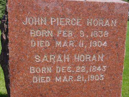HORAN, JOHN & SARAH - Sac County, Iowa | JOHN & SARAH HORAN