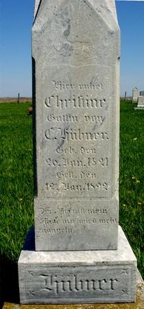 HUEBNER, CHRISTINE - Sac County, Iowa | CHRISTINE HUEBNER