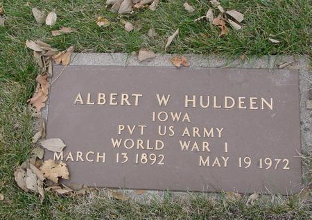 HULDEEN, ALBERT W. - Sac County, Iowa | ALBERT W. HULDEEN