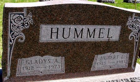 HUMMEL, HUBERT & GLADYS A. - Sac County, Iowa   HUBERT & GLADYS A. HUMMEL