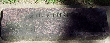 HUMPHRIES, SAMUEL ERNEST - Sac County, Iowa   SAMUEL ERNEST HUMPHRIES