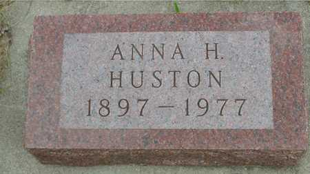 HUSTON, ANNA H. - Sac County, Iowa   ANNA H. HUSTON