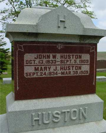 HUSTON, FAMILY GRAVESTONE - Sac County, Iowa | FAMILY GRAVESTONE HUSTON