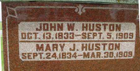 HUSTON, JOHN W. & MARY J. - Sac County, Iowa | JOHN W. & MARY J. HUSTON