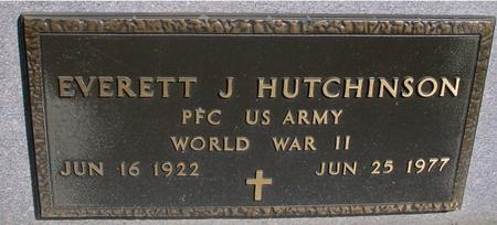 HUTCHINSON, EVERETT J. - Sac County, Iowa | EVERETT J. HUTCHINSON