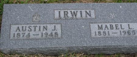 IRWIN, AUSTIN & MABEL - Sac County, Iowa | AUSTIN & MABEL IRWIN