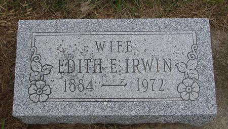 IRWIN, EDITH E. - Sac County, Iowa | EDITH E. IRWIN