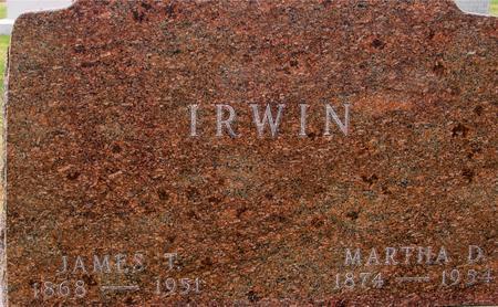 IRWIN, JAMES & MARTHA - Sac County, Iowa | JAMES & MARTHA IRWIN