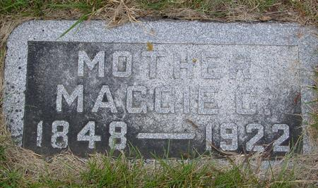 IRWIN, MAGGIE C. - Sac County, Iowa   MAGGIE C. IRWIN