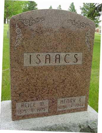 ISAACS, HENRY & ALICE M. - Sac County, Iowa | HENRY & ALICE M. ISAACS