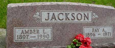 JACKSON, FAY & AMBER L. - Sac County, Iowa | FAY & AMBER L. JACKSON