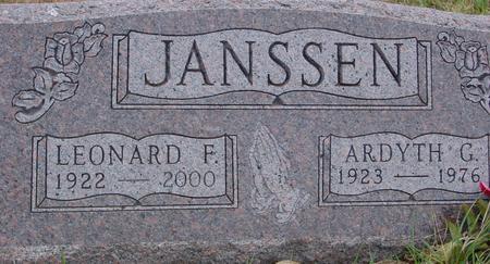 JANSSEN, LEONARD & ARDYTH - Sac County, Iowa | LEONARD & ARDYTH JANSSEN