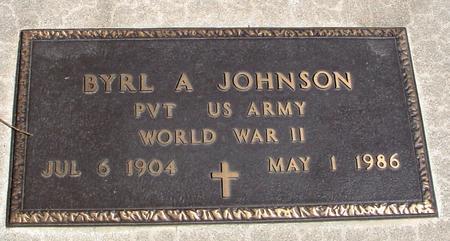 JOHNSON, BYRL A. - Sac County, Iowa | BYRL A. JOHNSON