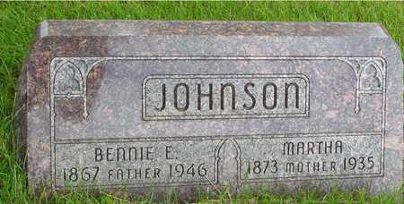 JOHNSON, BENNIE & MARTHA - Sac County, Iowa   BENNIE & MARTHA JOHNSON