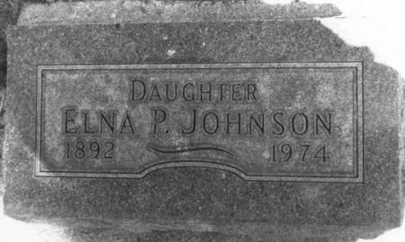 JOHNSON, ELNA PAULINE - Sac County, Iowa | ELNA PAULINE JOHNSON