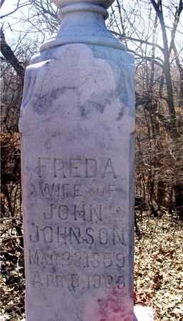 JOHNSON, FREDA - Sac County, Iowa   FREDA JOHNSON