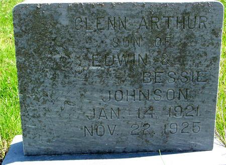 JOHNSON, GLENN ARTHUR - Sac County, Iowa | GLENN ARTHUR JOHNSON