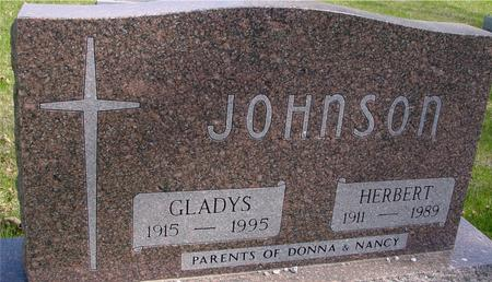 JOHNSON, HERBERT & GLADYS - Sac County, Iowa   HERBERT & GLADYS JOHNSON