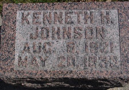 JOHNSON, KENNETH H. - Sac County, Iowa | KENNETH H. JOHNSON