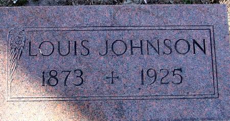 JOHNSON, LOUIS - Sac County, Iowa | LOUIS JOHNSON