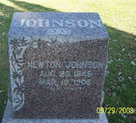JOHNSON, NEWTON - Sac County, Iowa   NEWTON JOHNSON