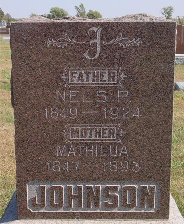 JOHNSON, NELS & MATHILDA - Sac County, Iowa | NELS & MATHILDA JOHNSON
