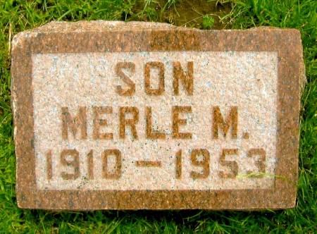 JOHNSTON, MERLE M. - Sac County, Iowa | MERLE M. JOHNSTON