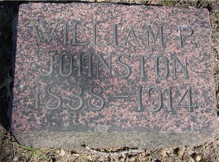 JOHNSTON, WILLIAM P. - Sac County, Iowa | WILLIAM P. JOHNSTON