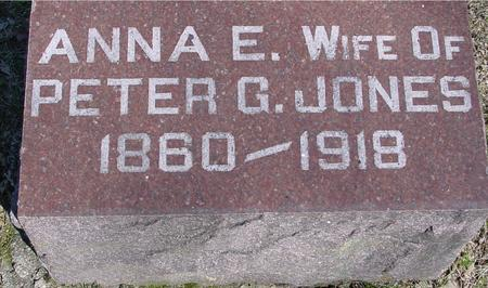JONES, ANNA E. - Sac County, Iowa | ANNA E. JONES