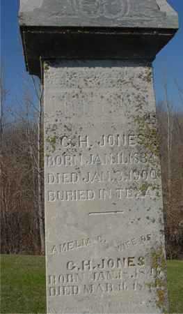 JONES, G. H. & AMELIA - Sac County, Iowa | G. H. & AMELIA JONES