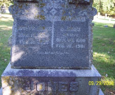 JONES, JOSEPH - Sac County, Iowa | JOSEPH JONES