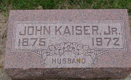 KAISER, JOHN,  JR. - Sac County, Iowa | JOHN,  JR. KAISER