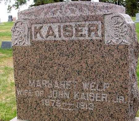 WELP KAISER, MARGARET - Sac County, Iowa | MARGARET WELP KAISER