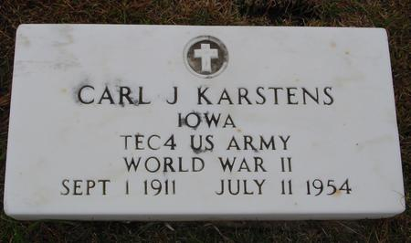 KARSTENS, CARL J. - Sac County, Iowa | CARL J. KARSTENS