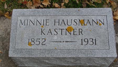 KASTNER, MINNIE - Sac County, Iowa   MINNIE KASTNER