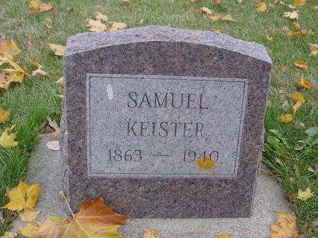 KEISTER, SAMUEL - Sac County, Iowa | SAMUEL KEISTER